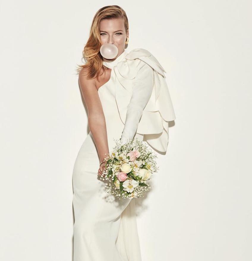 Bridal Gown / Kris Goyri FW17 / Foto: Kris Goyri Instagram