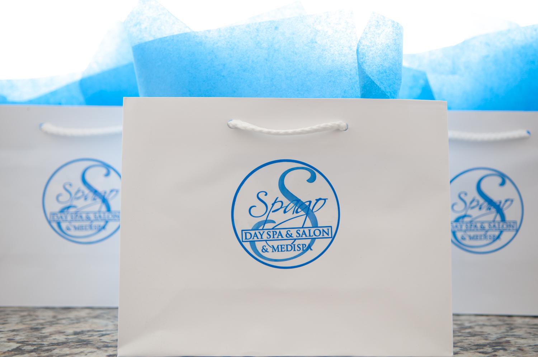 Gift Cards Bags Lobby Products Spago Day Spa Medispa Salon Punta Gorda Florida Michael Stampar D.O. DO