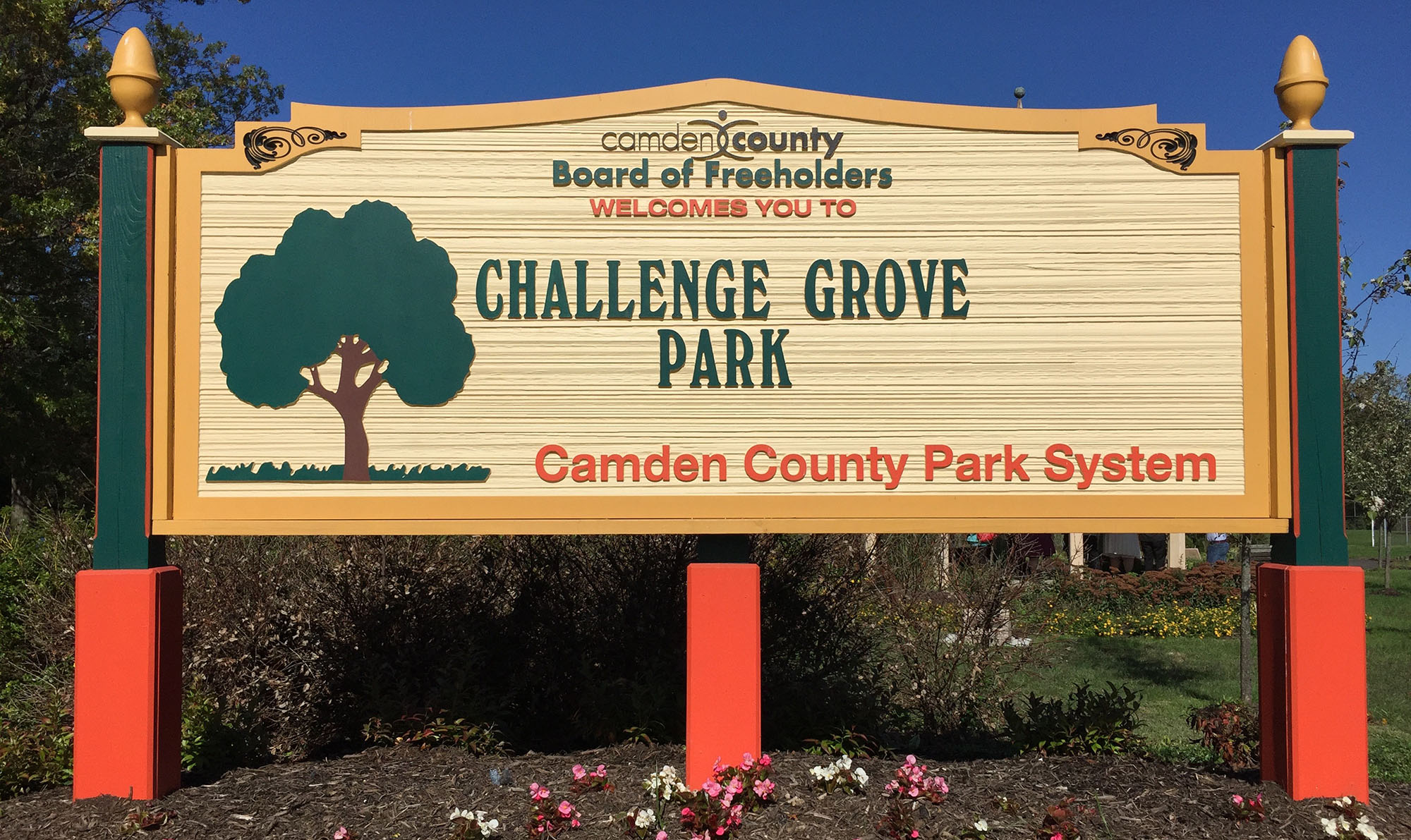 Award-winning Challenge Grove Park in Cherry Hill, New Jersey is the home of Jake's Place and Boundless Field - the home of the Camden County NJ Miracle League.