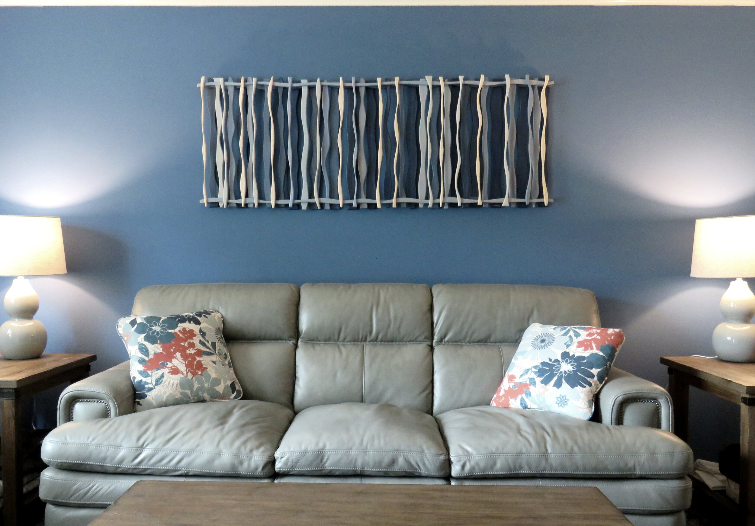 "Blue Hawaii - acquired for personal residence in Kirkwood, MO. 66""x24"""