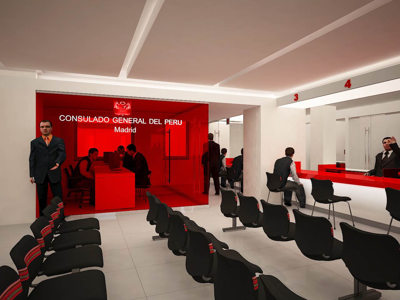 Consulado de Peru en Madrid-Barcelona