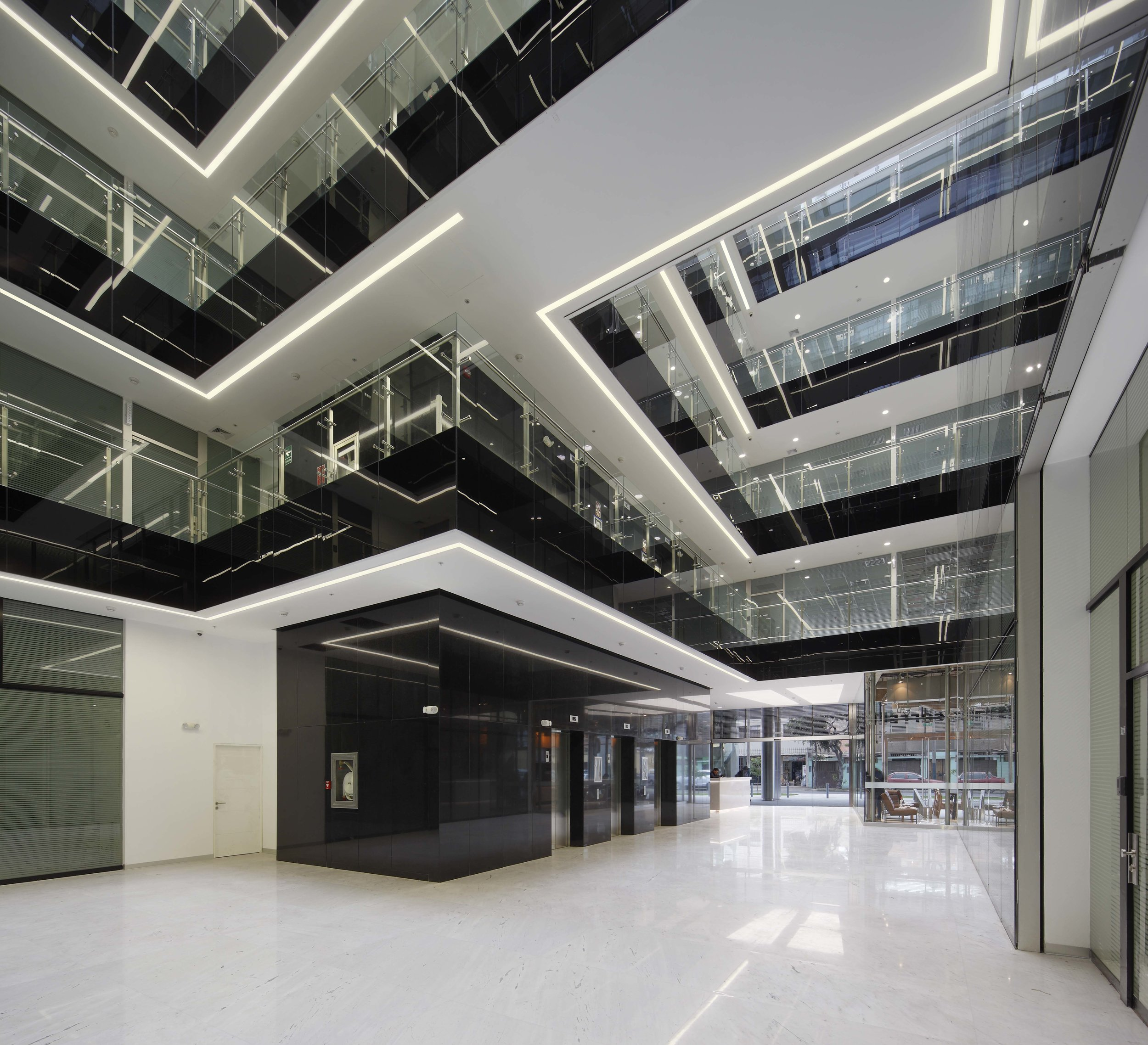 LABOK Business Center Interiors