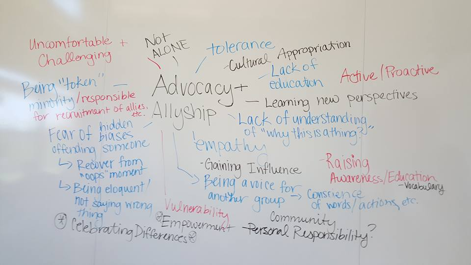 Advocacy and Allyship Workshop