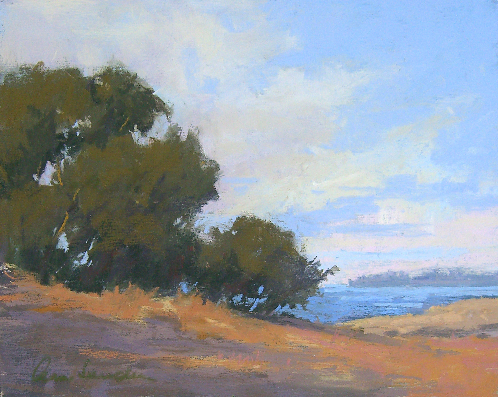 Douglas Preserve, pastel, 8x10