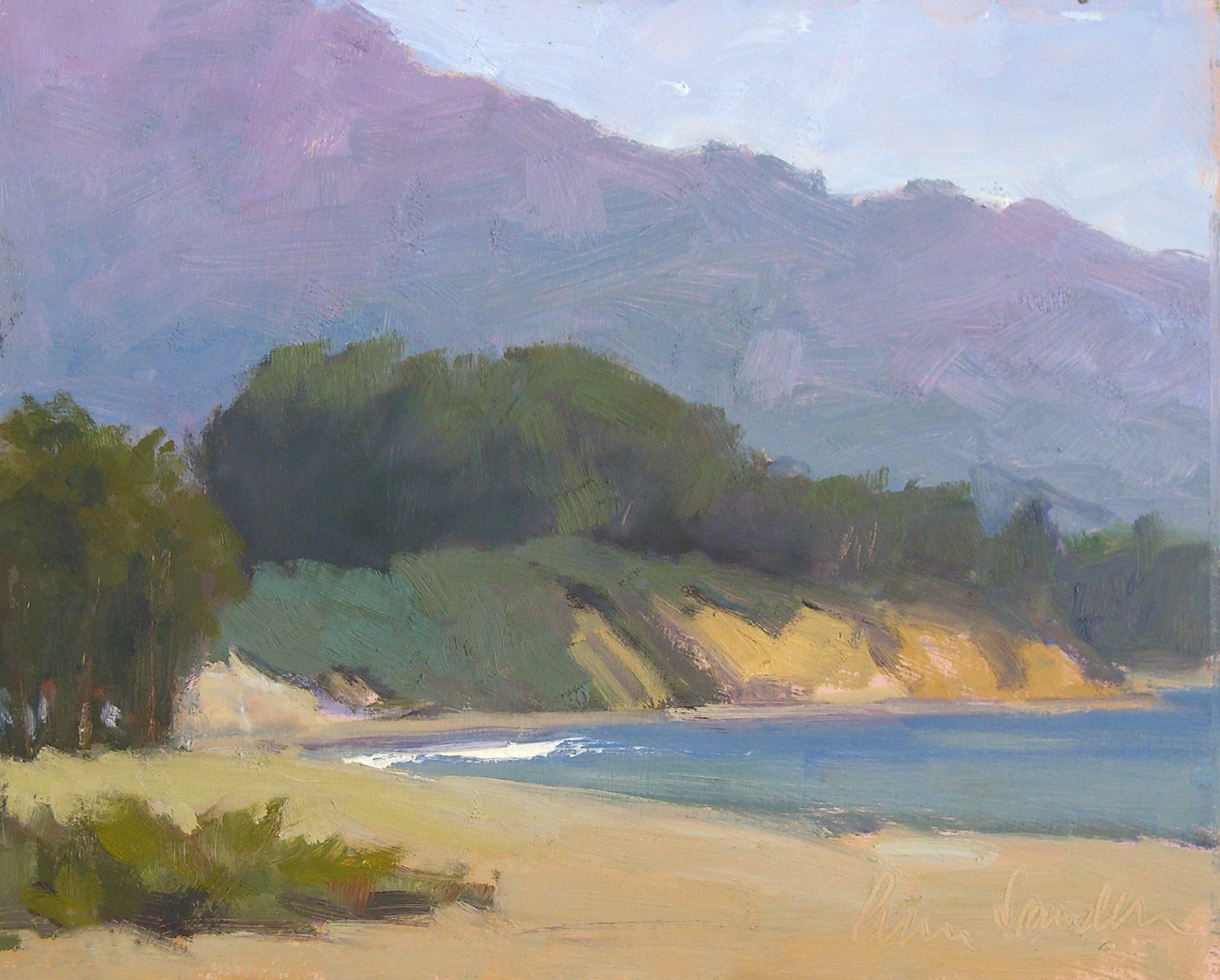East Beach, oil, 8x10 SOLD