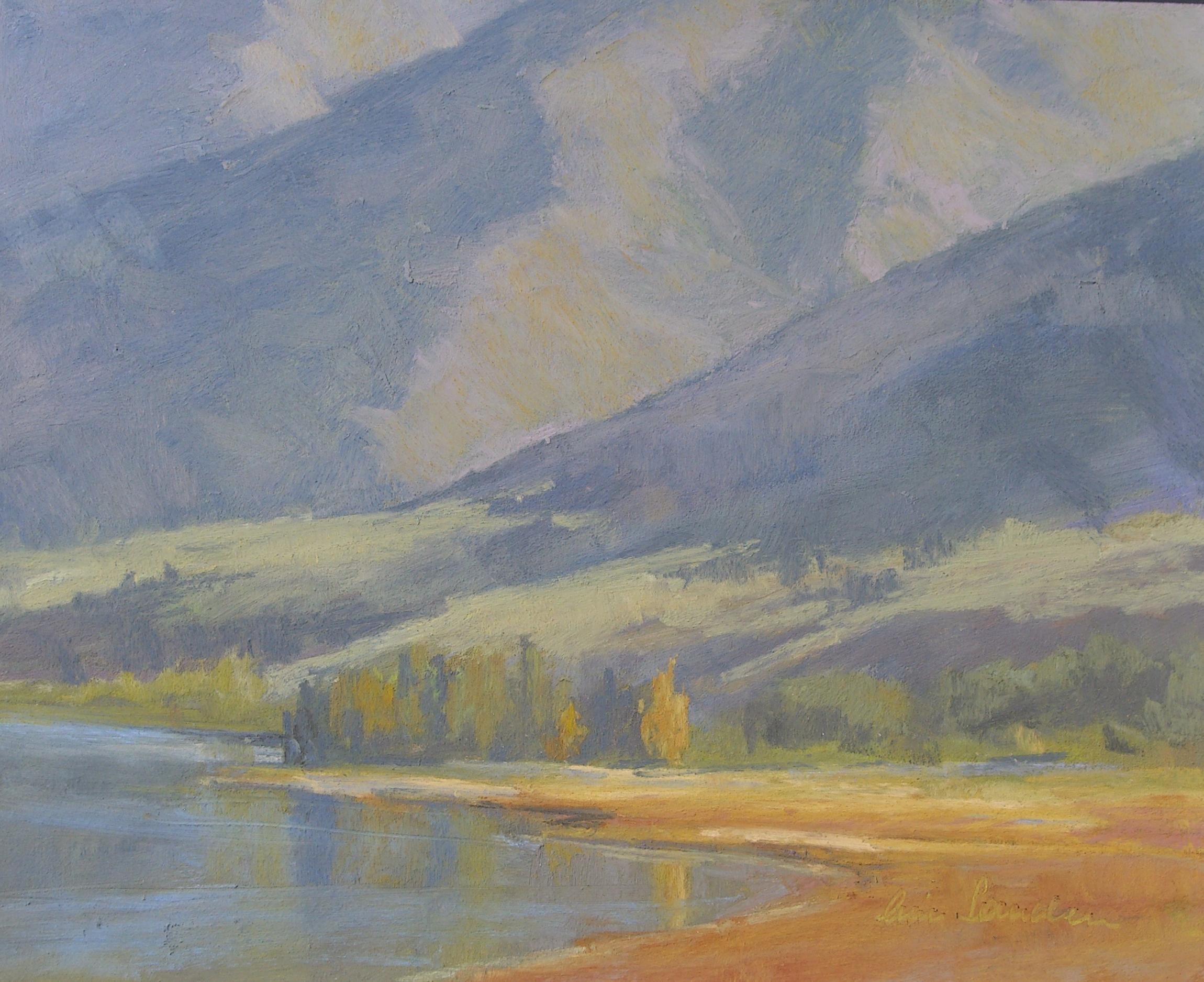 Mono Lake Autumn, pastel 8x10