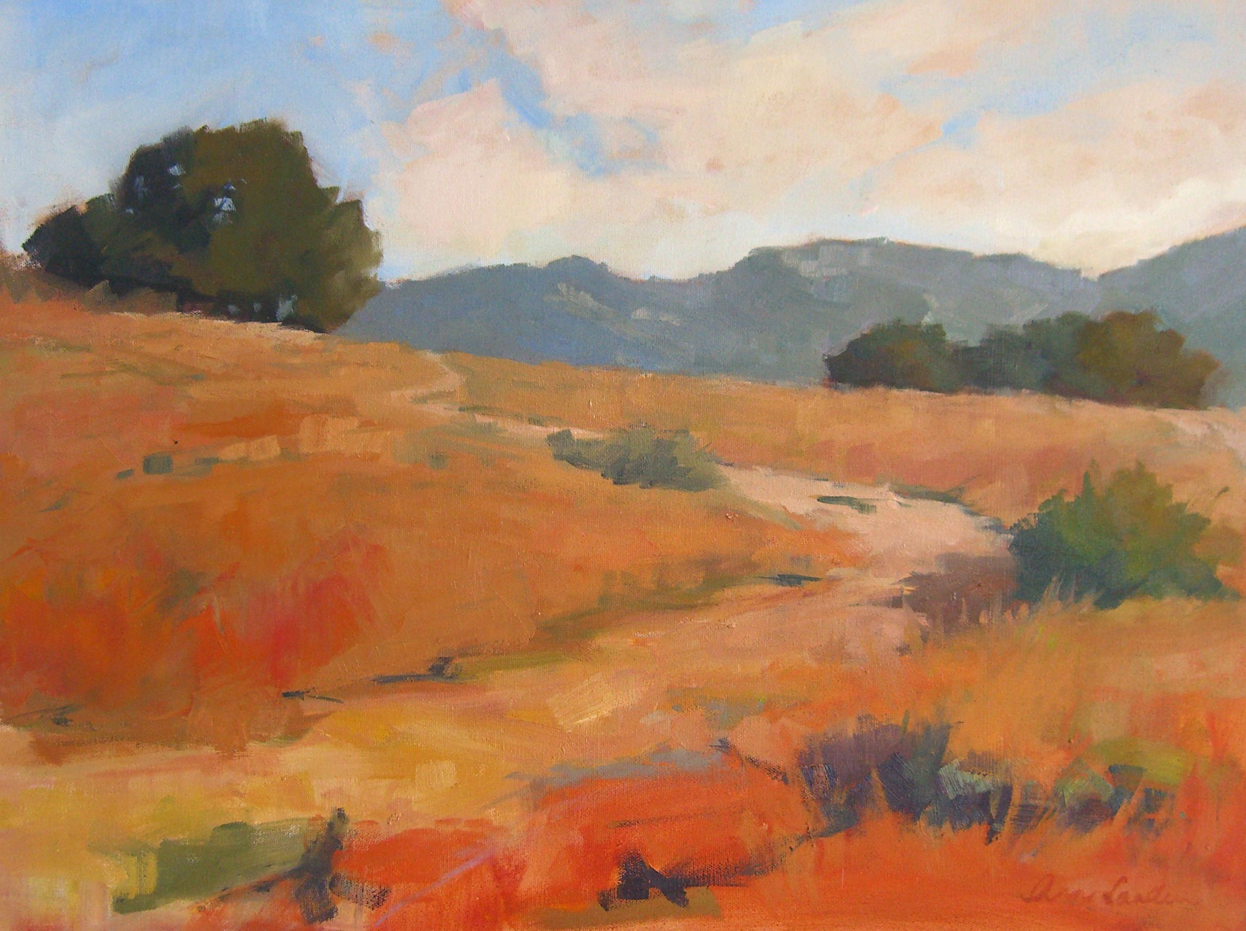 Foothills Morning, oil, 18x24
