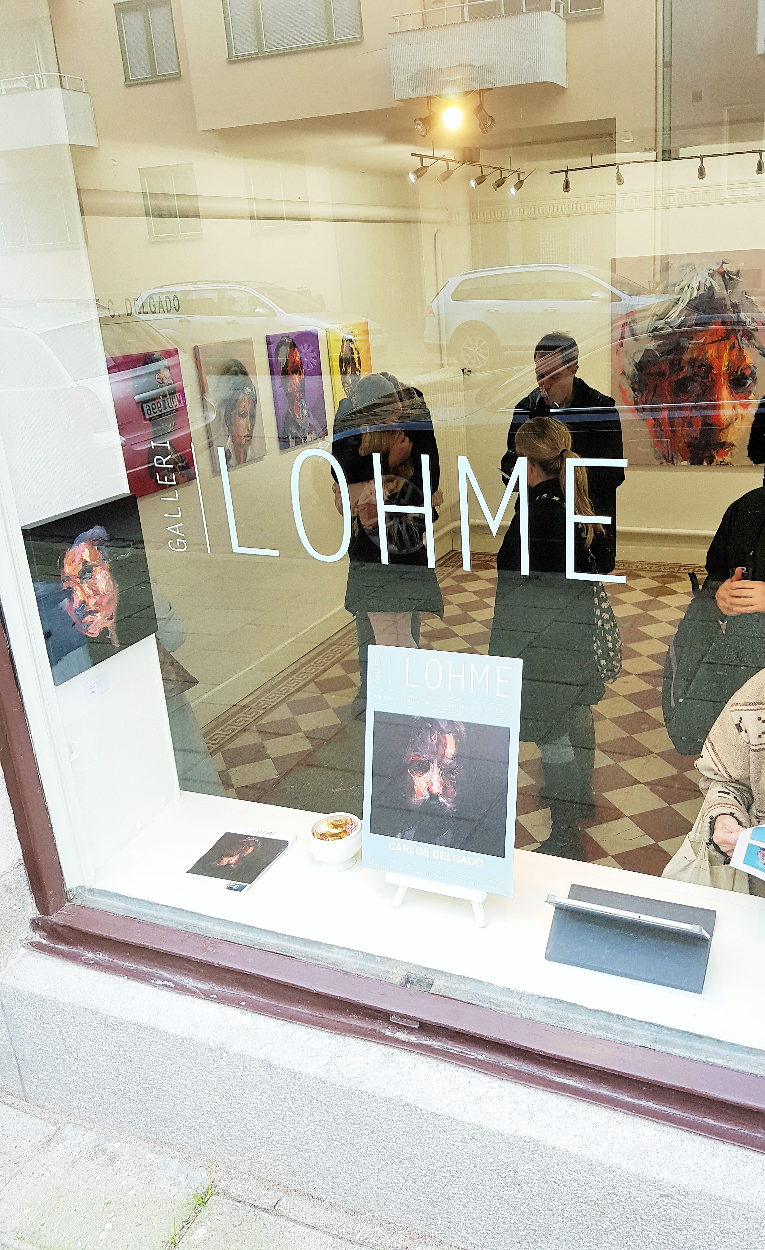 Photo from solo show at Galleri Lohme 2 years ago