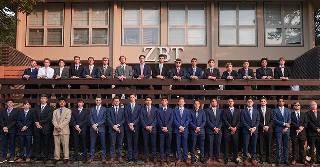 Congratulations to the 40 newest recruits of Alpha Alpha as they begin a new chapter in their lives with ZBT #powerhouseofexcellence