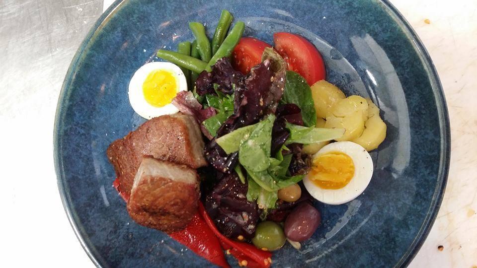 Nicoise Salad / Credit: Bird Kitchen + Cocktails