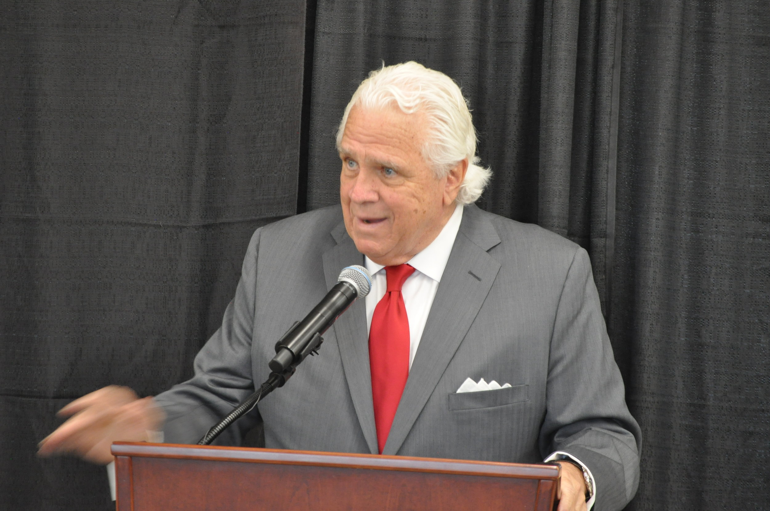 The inimitable Maryland Senate President V. Mike Miller. PHOTO: RAOUL DENNIS // PRINCE GEORGE'S SUITE MAGAZINE & MEDIA