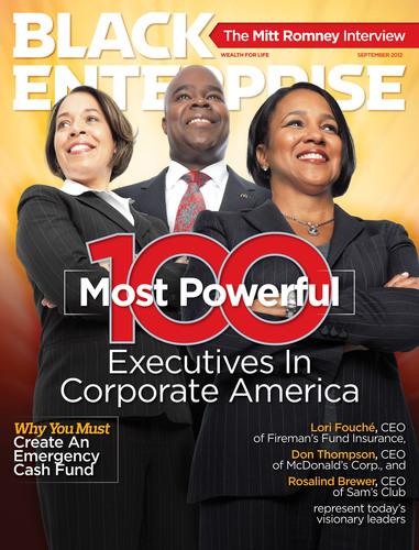 Recognition: Coleman appeared in  Black Enterprise  Magazine in September 2012.