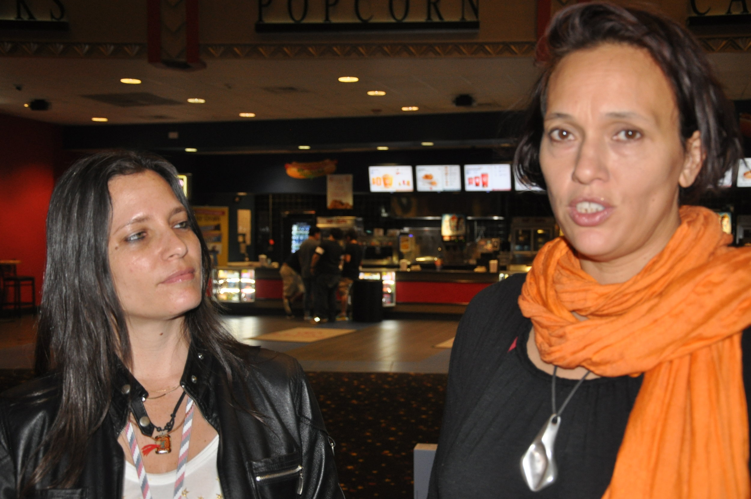 Filmmakers Shiri Paamony Eshel and  Miranda Morton Yap  .