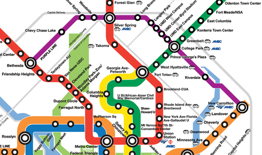 A Look At The Purple Line Route