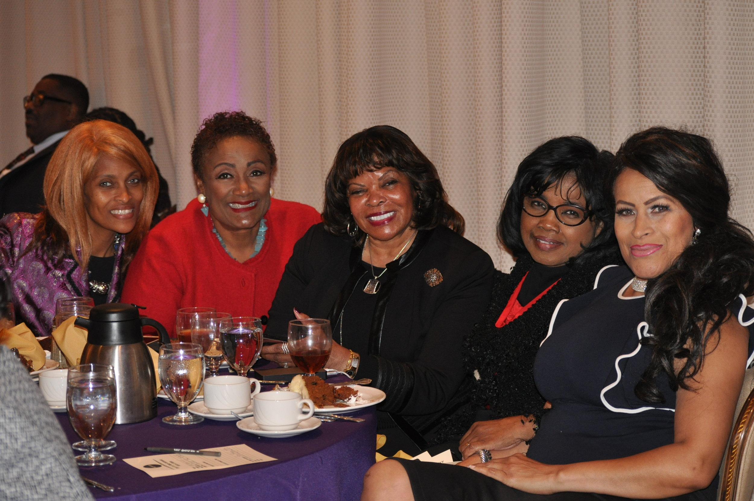 Members of Sisters4Sisters Network. PHOTO: RAOUL DENNIS // PRINCE GEORGE'S SUITE MAGAZINE & MEDIA
