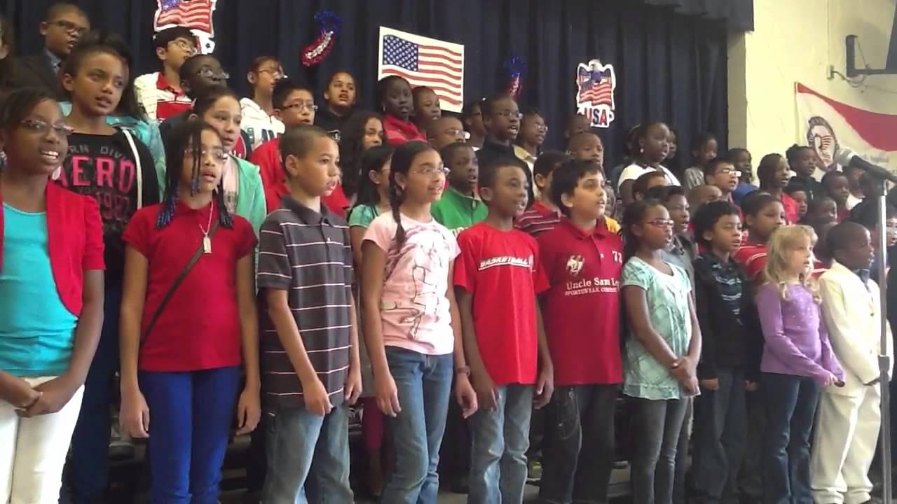 Glenarden Woods Elementary School students / Credit: YouTube