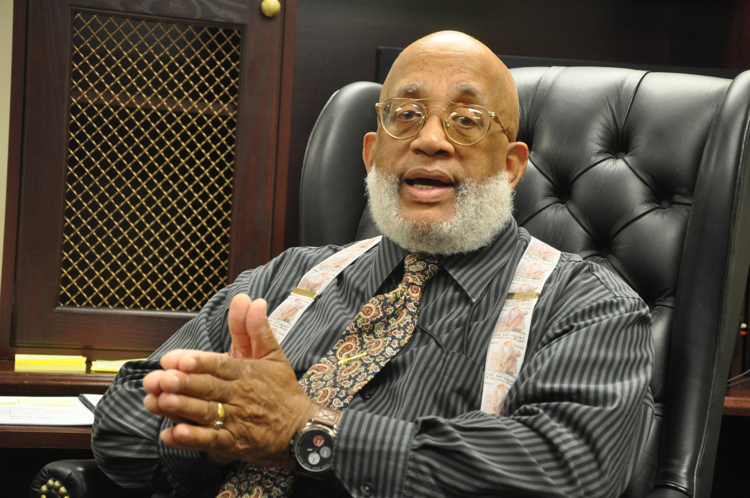 Dr. James A. Dula. PHOTO: RAOUL DENNIS // PRINCE GEORGE'S SUITE MAGAZINE & MEDIA