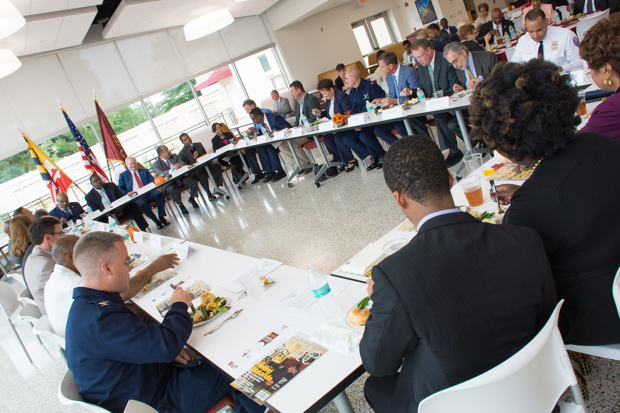 BMHS is often the site of key business and community meetings such as the Greater Prince George's Business Roundtable in September 2018. PHOTO: RAOUL DENNIS // PRINCE GEORGES SUITE MAGAZINE & MEDIA