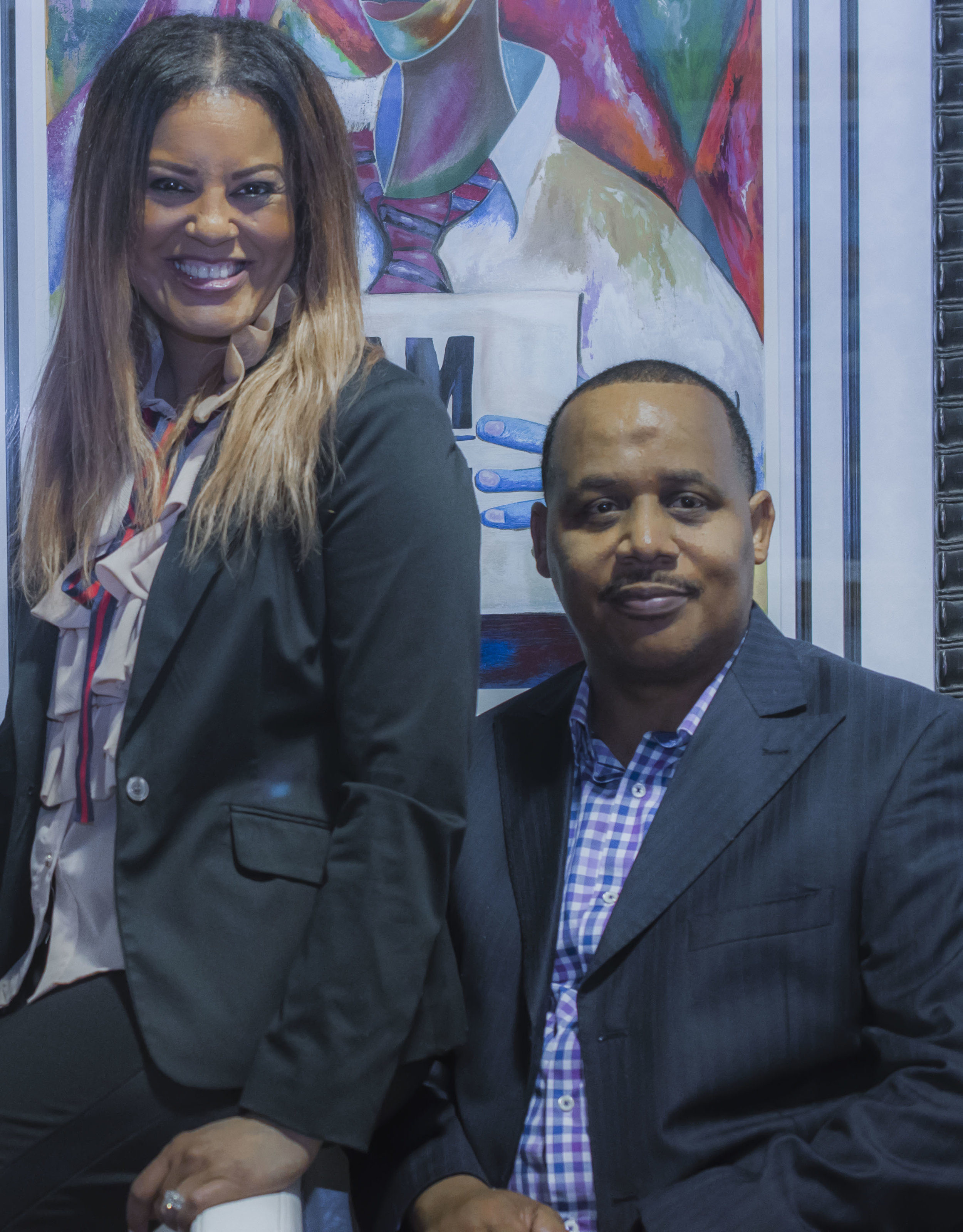 Jackie and Derrick Thompson, Overdue Recognition Art Gallery