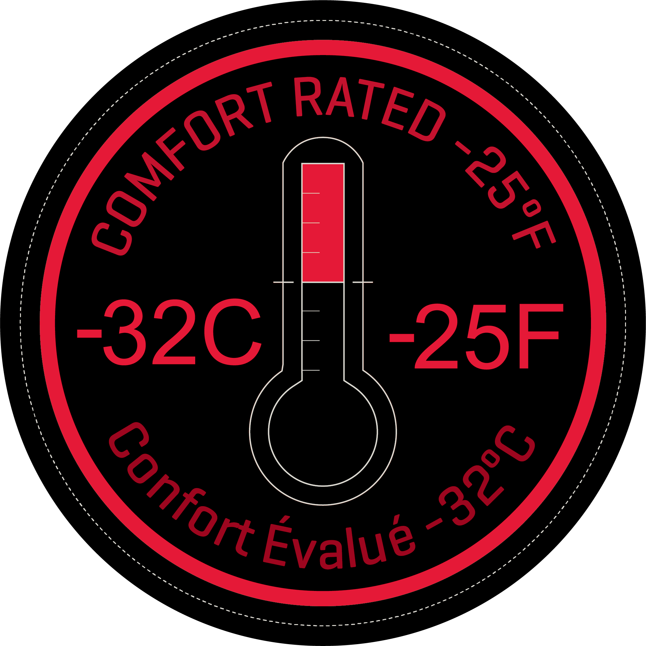 Comfort Rated -32C/-25F