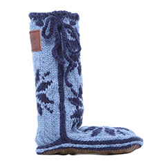 Chalet Sock Bluestone