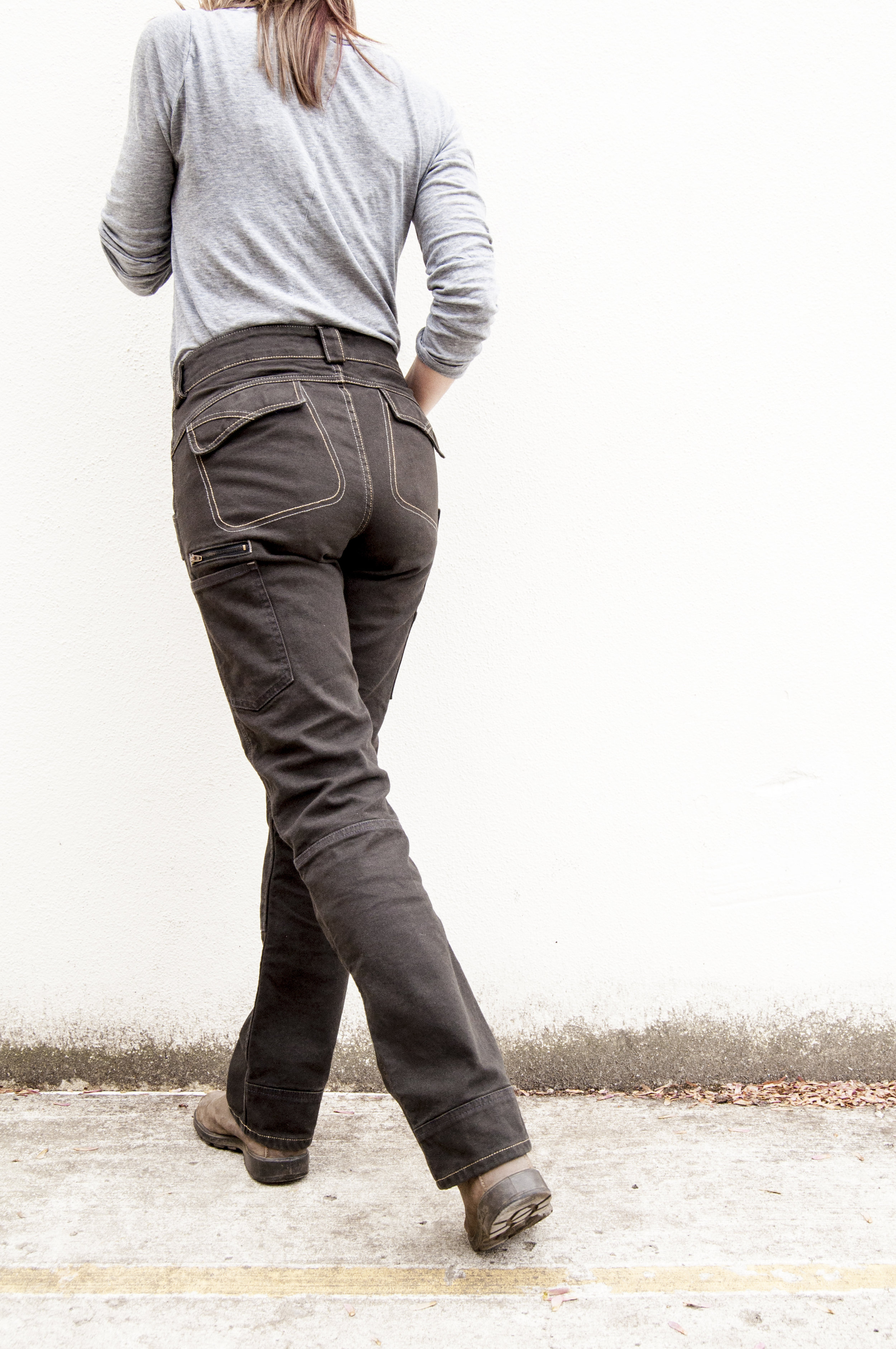 Day Construct Pant - Brown Canvas