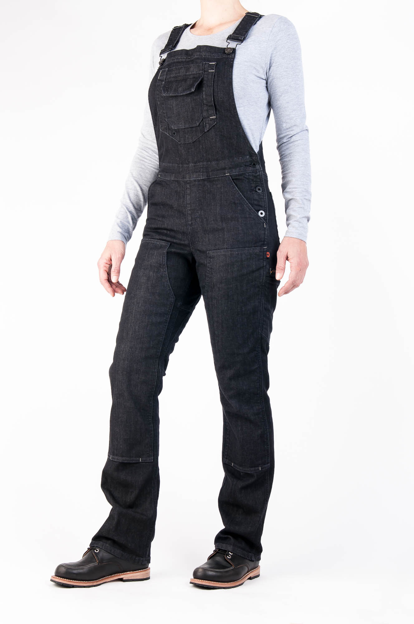 Freshley Overall Black Denim