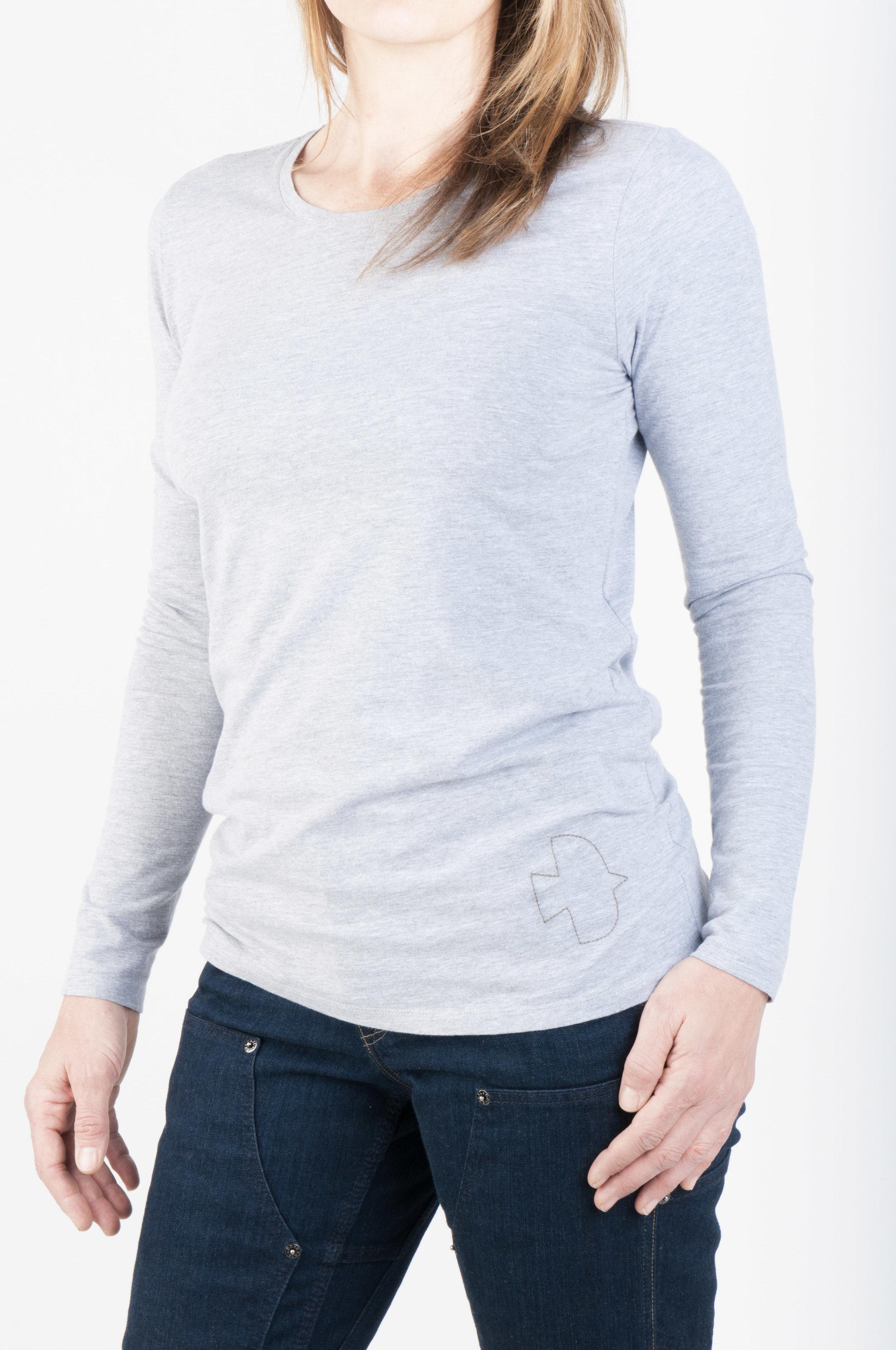 Long Sleeve Tee Grey