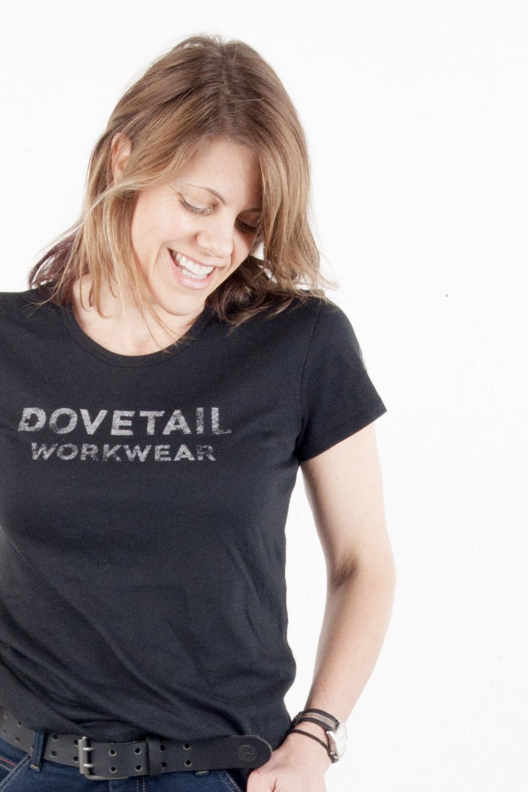 Dovetail Logo Tee Black