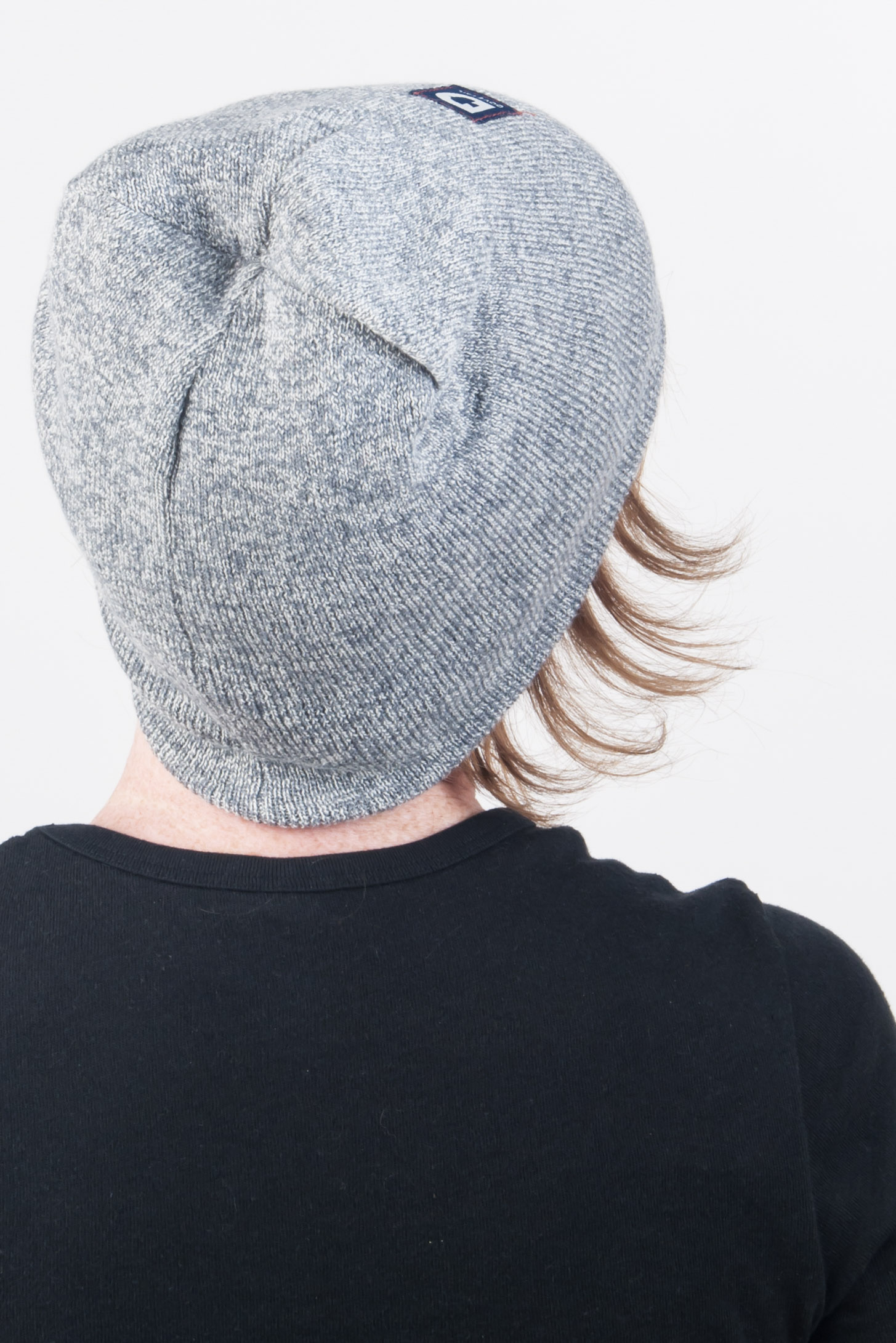 Reversible Work Beanie Grey