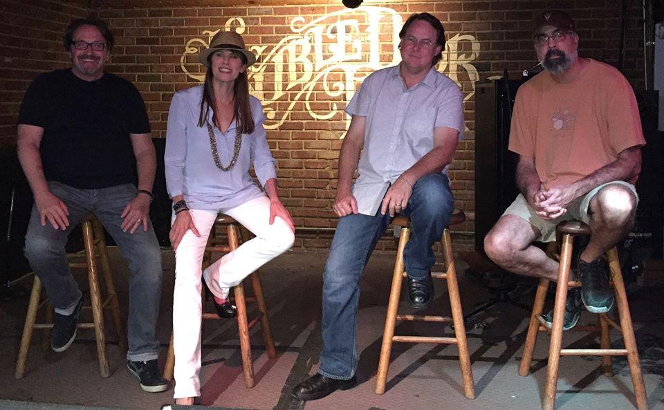 The Four Producers (right to left): Rick Fitts and Kim Brattain of Kim Brattain Media, Chuck Bludsworth of Civilized Films ( www.civilizedfilms.com ), Jay Ahuja of  Ahujadaddy Films