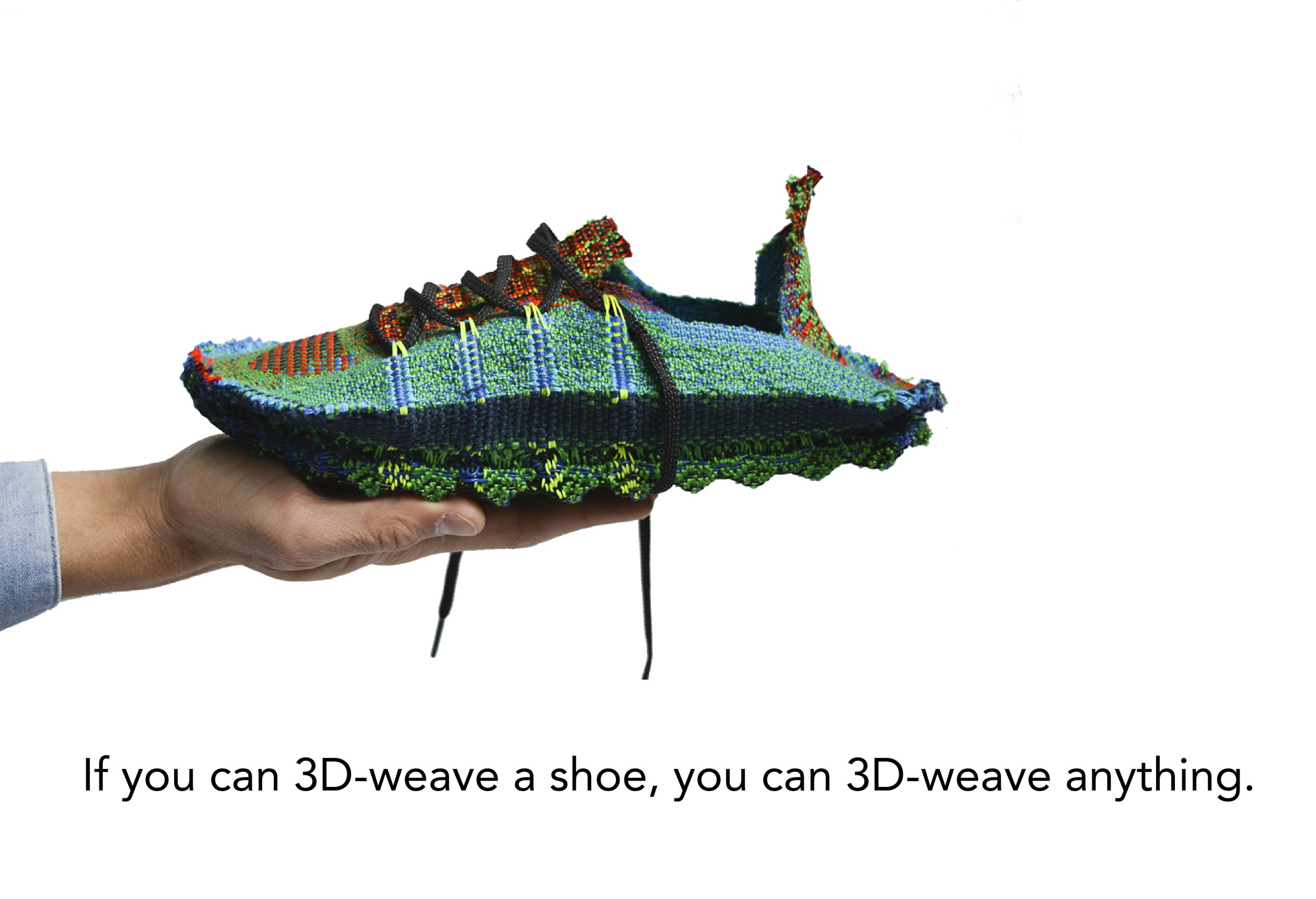 no logo if you can weave a shoe you can weave anything.jpg
