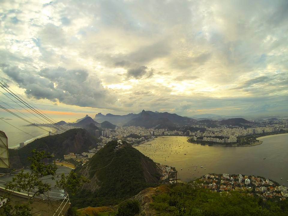 The glorious view from Sugar Loaf mountain. Rio is home to some of the most stunning city views on the planet.