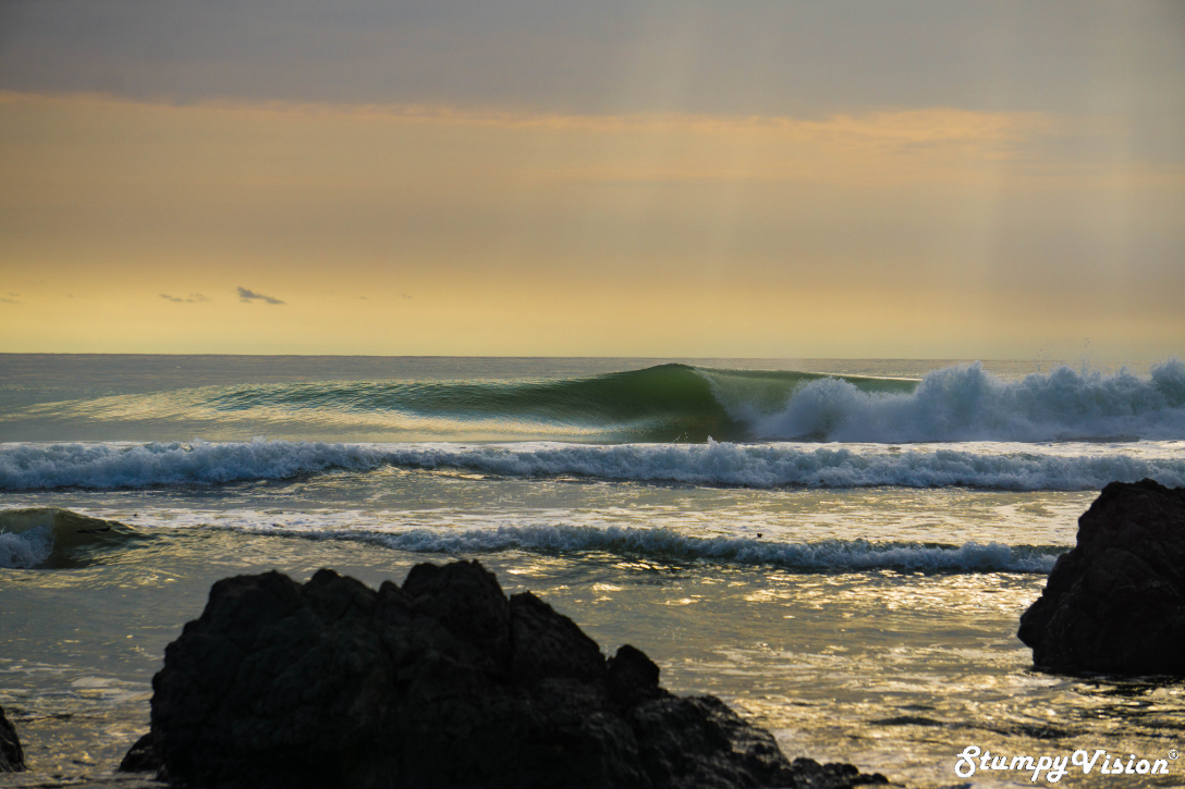 Empty perfection on the Pacific.