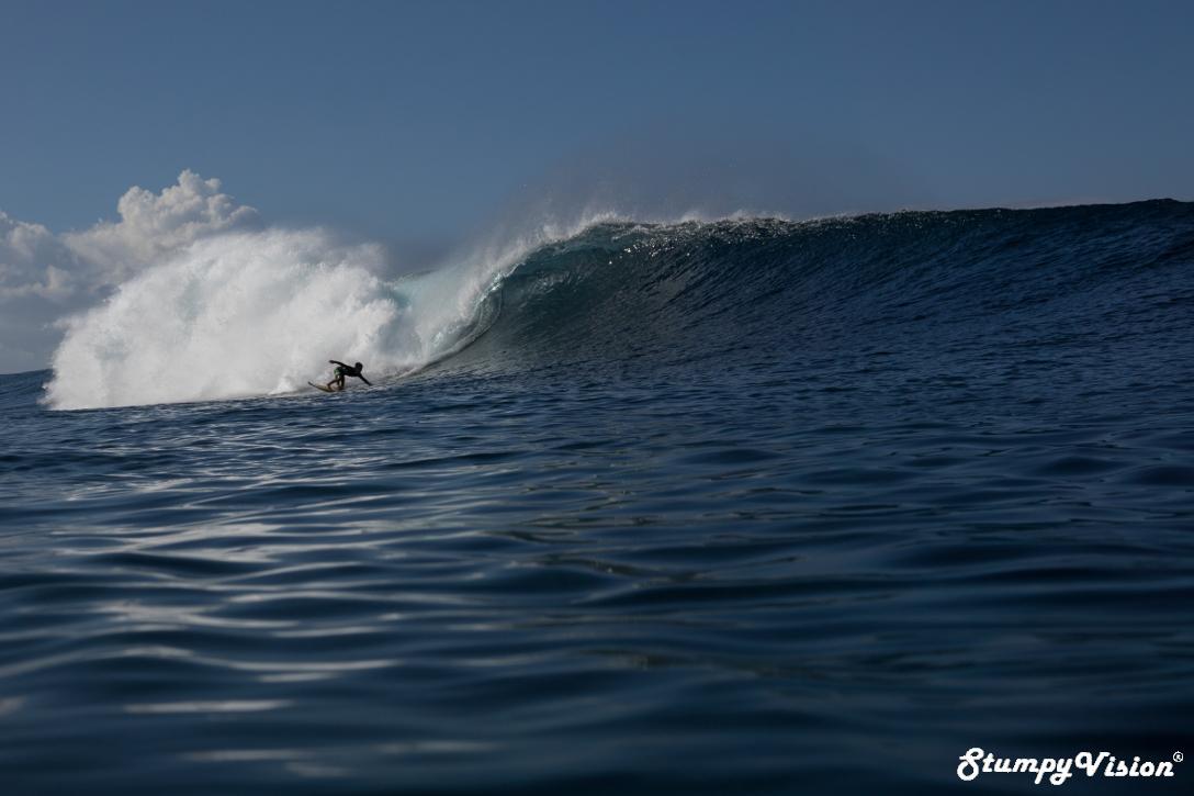 Just one last wave for Santiago Piedra
