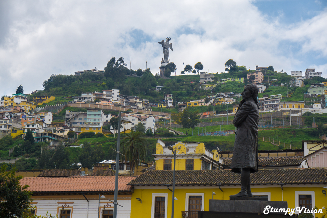 Moody yet colourful, Quito.
