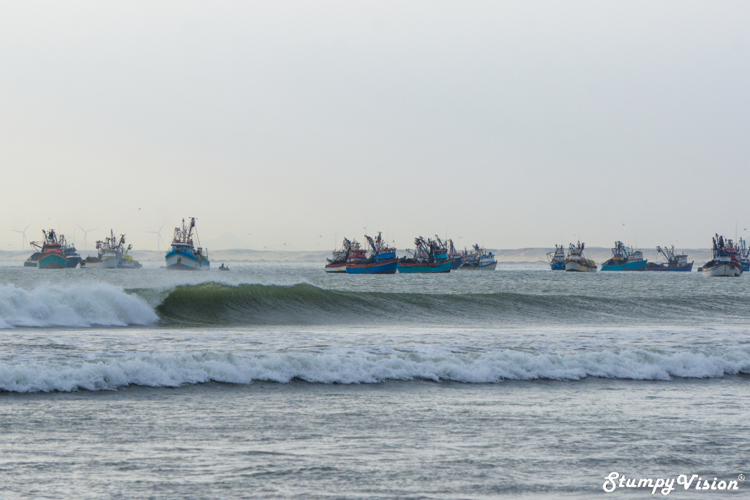 Did I mention the wave is located in the middle of a sleepy fishing village?