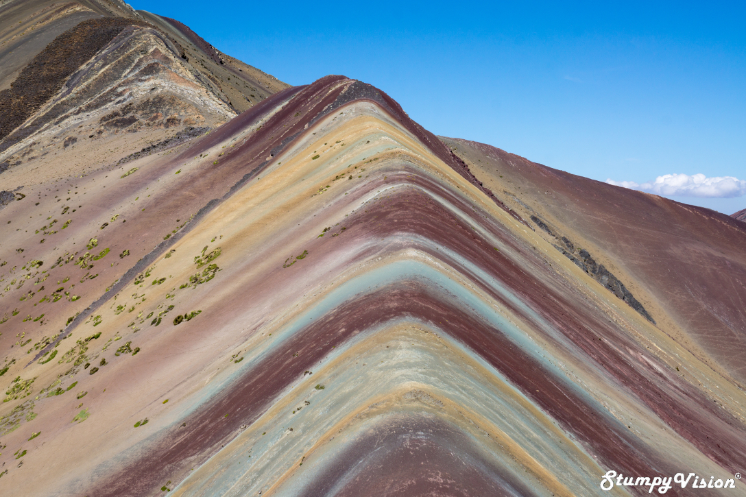 I have no idea how long it took the Inca people to paint this mountain but you must agree that the outcome is truly stunning.