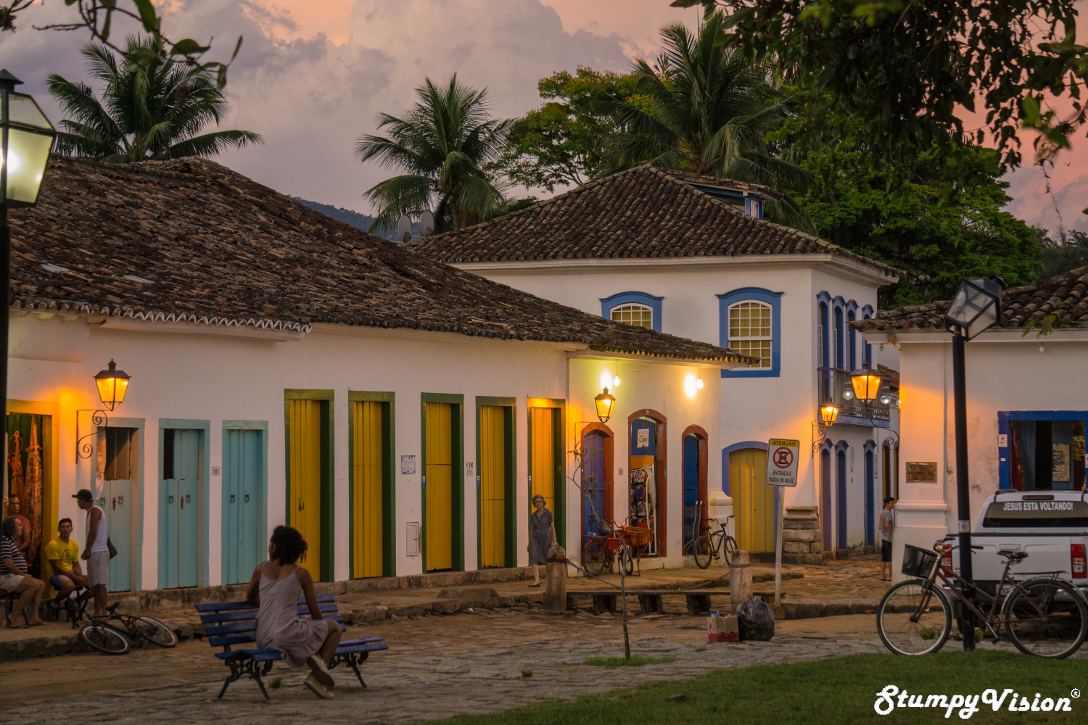 The streets of Paraty.