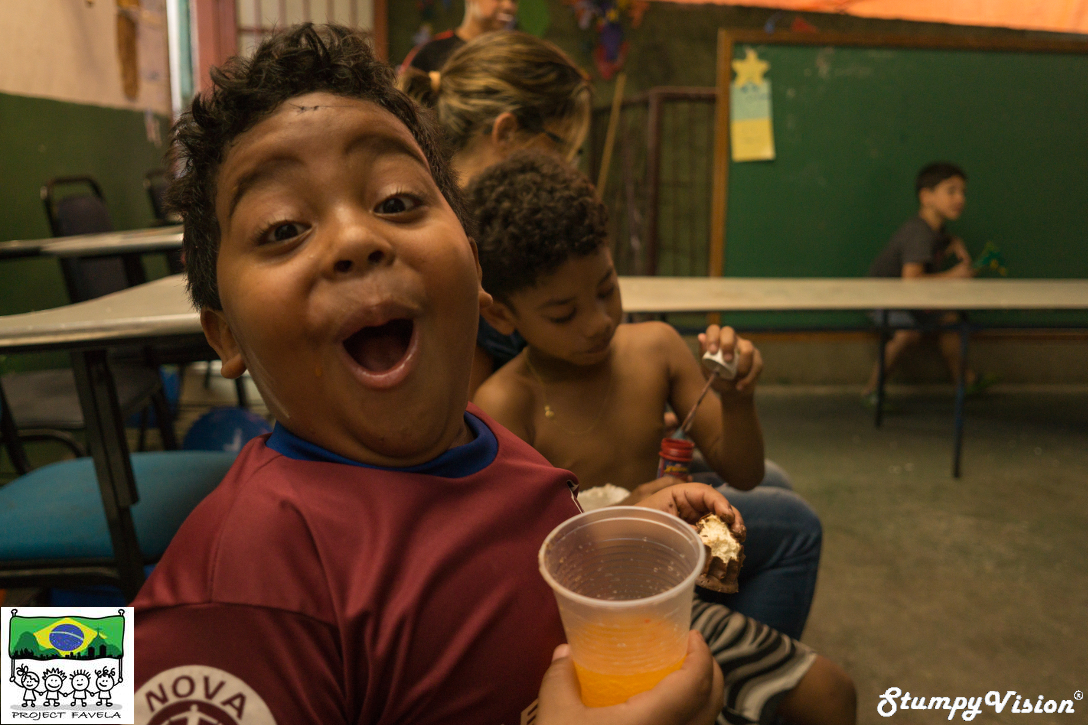 Smiles, personalities and hearts larger than life! Welcome to Project Favela!