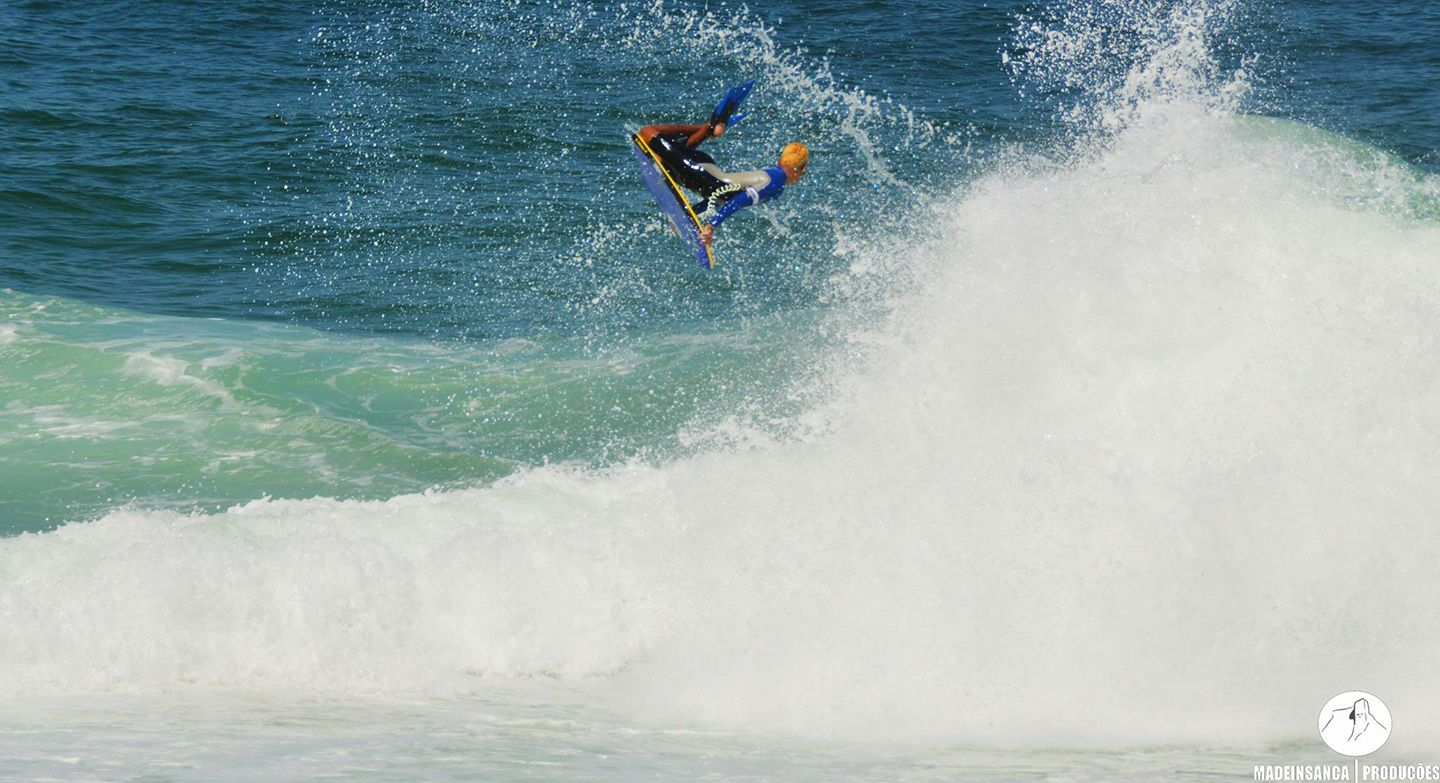 Thiago Silva one of Brasil's best young talents at just 15 years of age is surfing well beyond his years. Photo by  Madeinsanca Producoes .