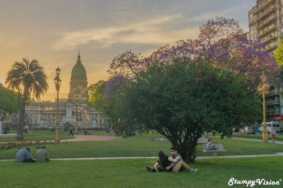 BA's charming parks and squares.