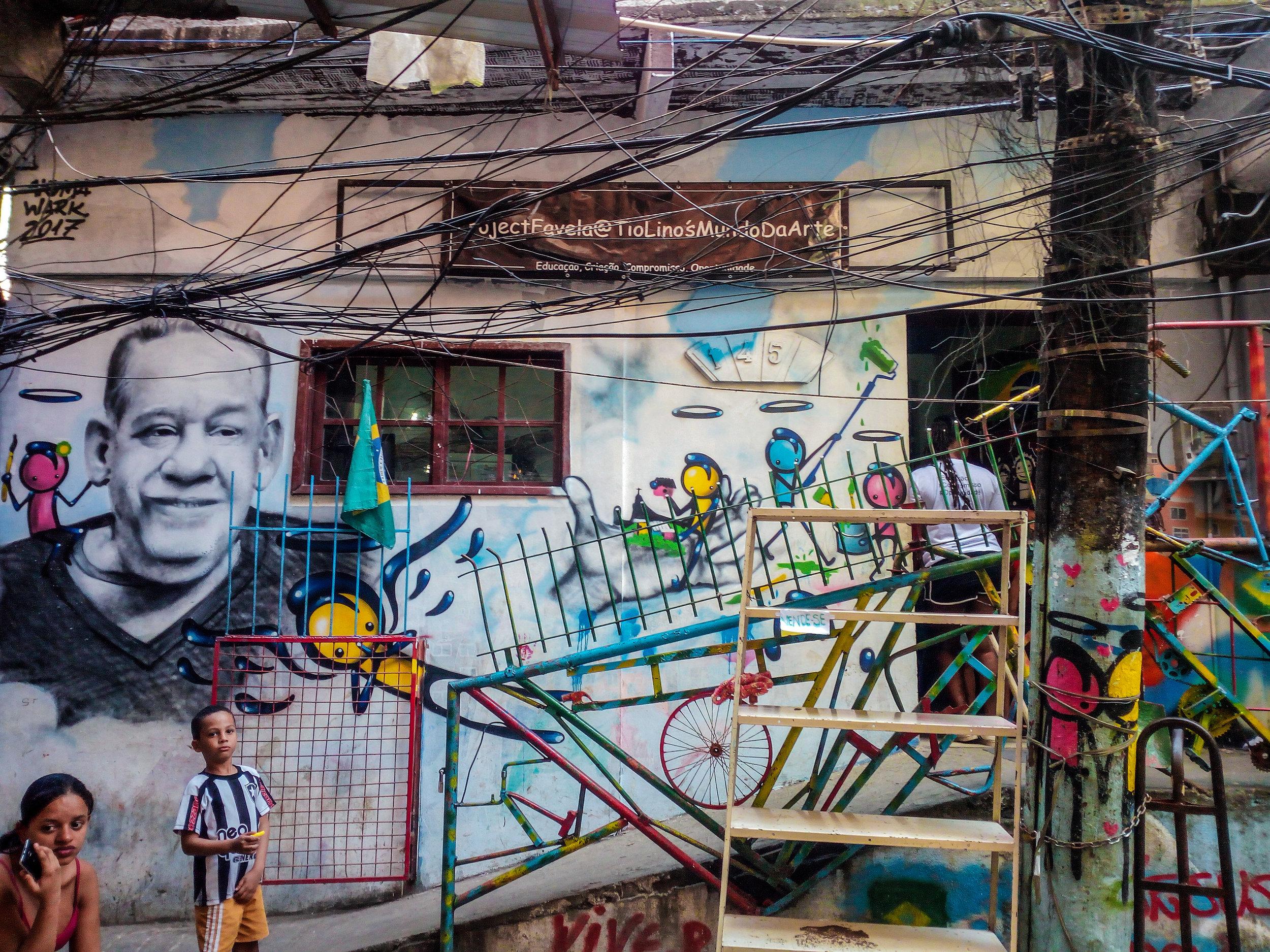 Welcome to Project Favela, photo by Franziska Kleinhempl.