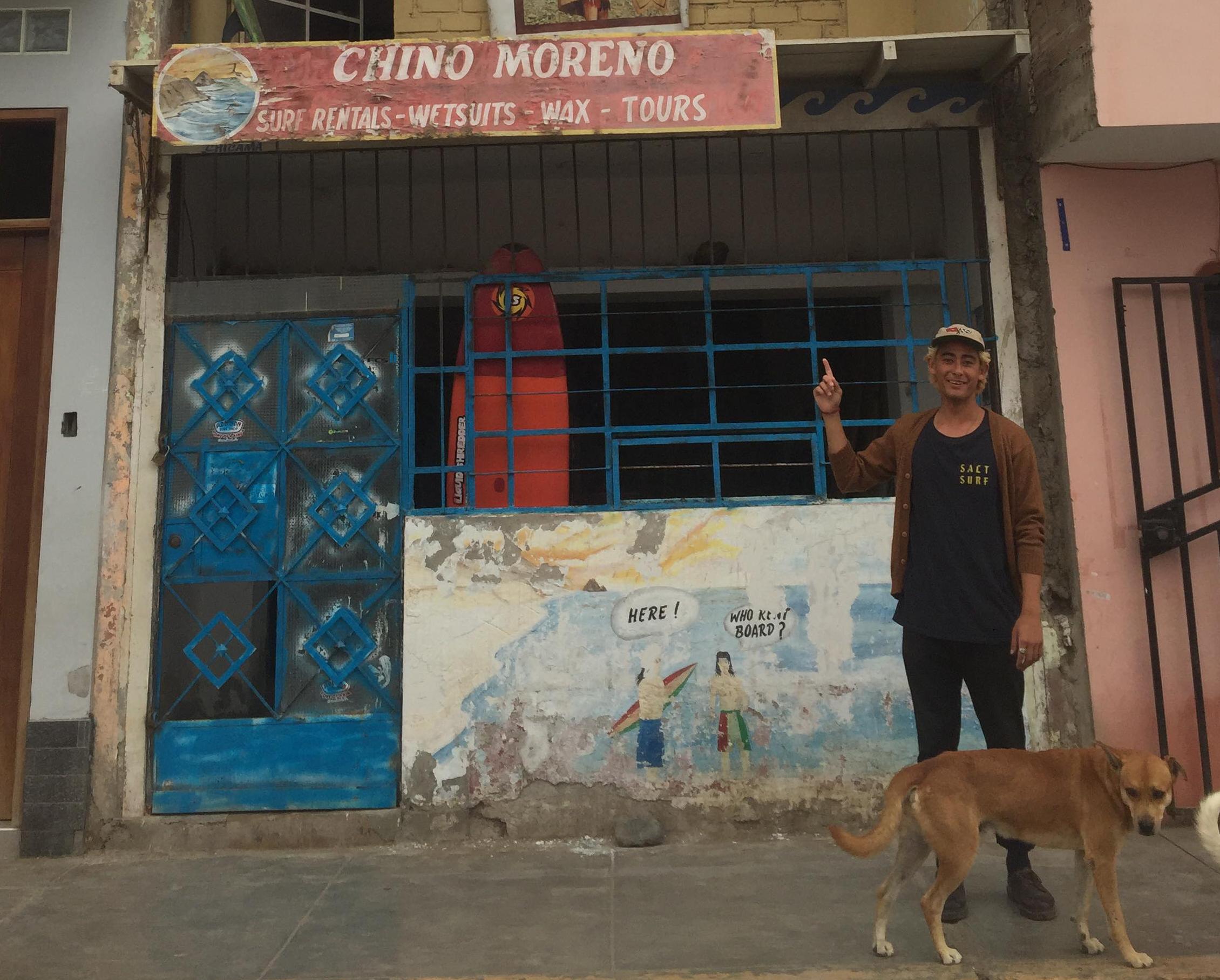 Milo, the blonde Gringo Chinaman.