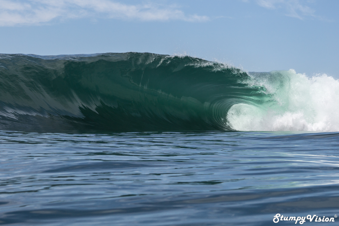 What greeted me on the paddle out, literally the first frame I took.