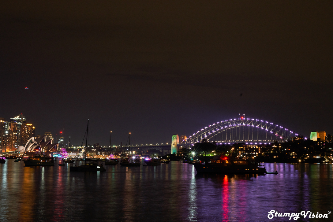 My test shot from the original location before the Po Po chased me away. Settings: Aperture F16, Exposure 5 secs & Iso 200.