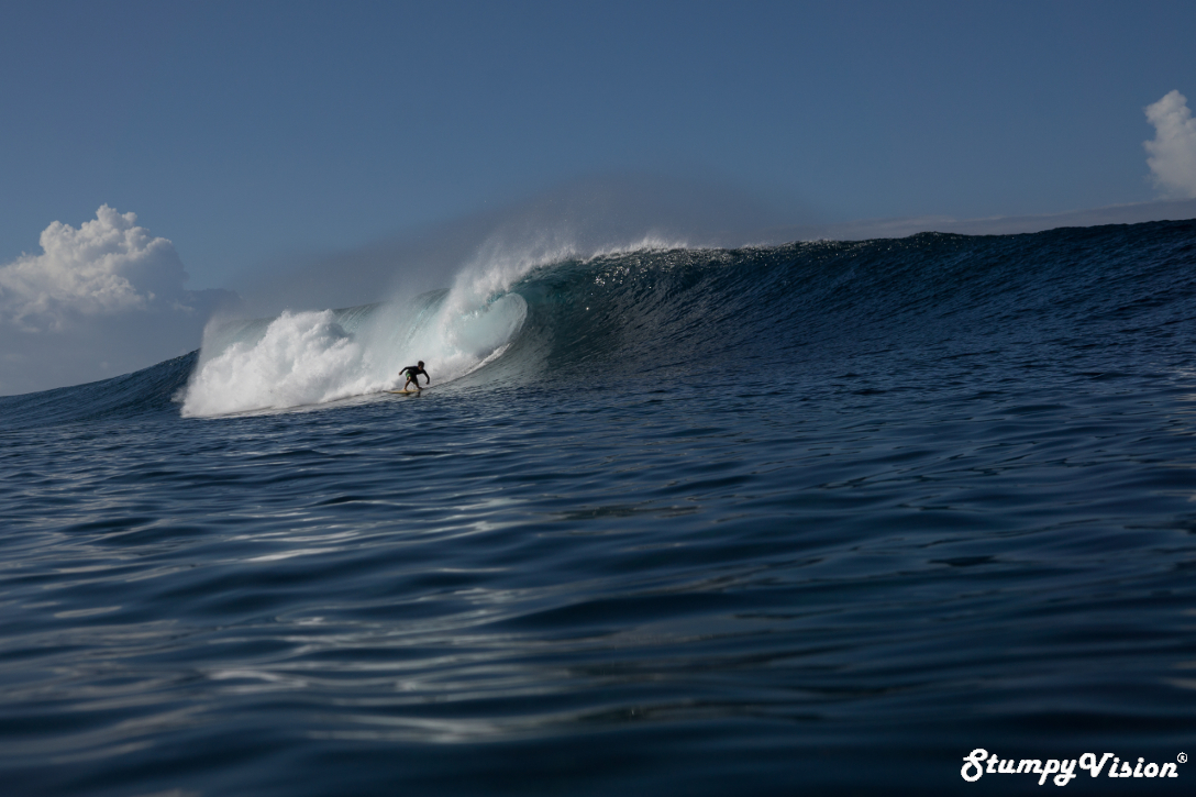 Solid conditions in the Galápagos.