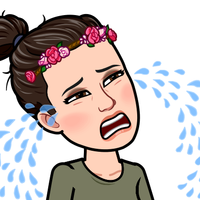 Notice my flower crown, because there is no Planet B. ( Bitmoji  is my new thing by the way.)