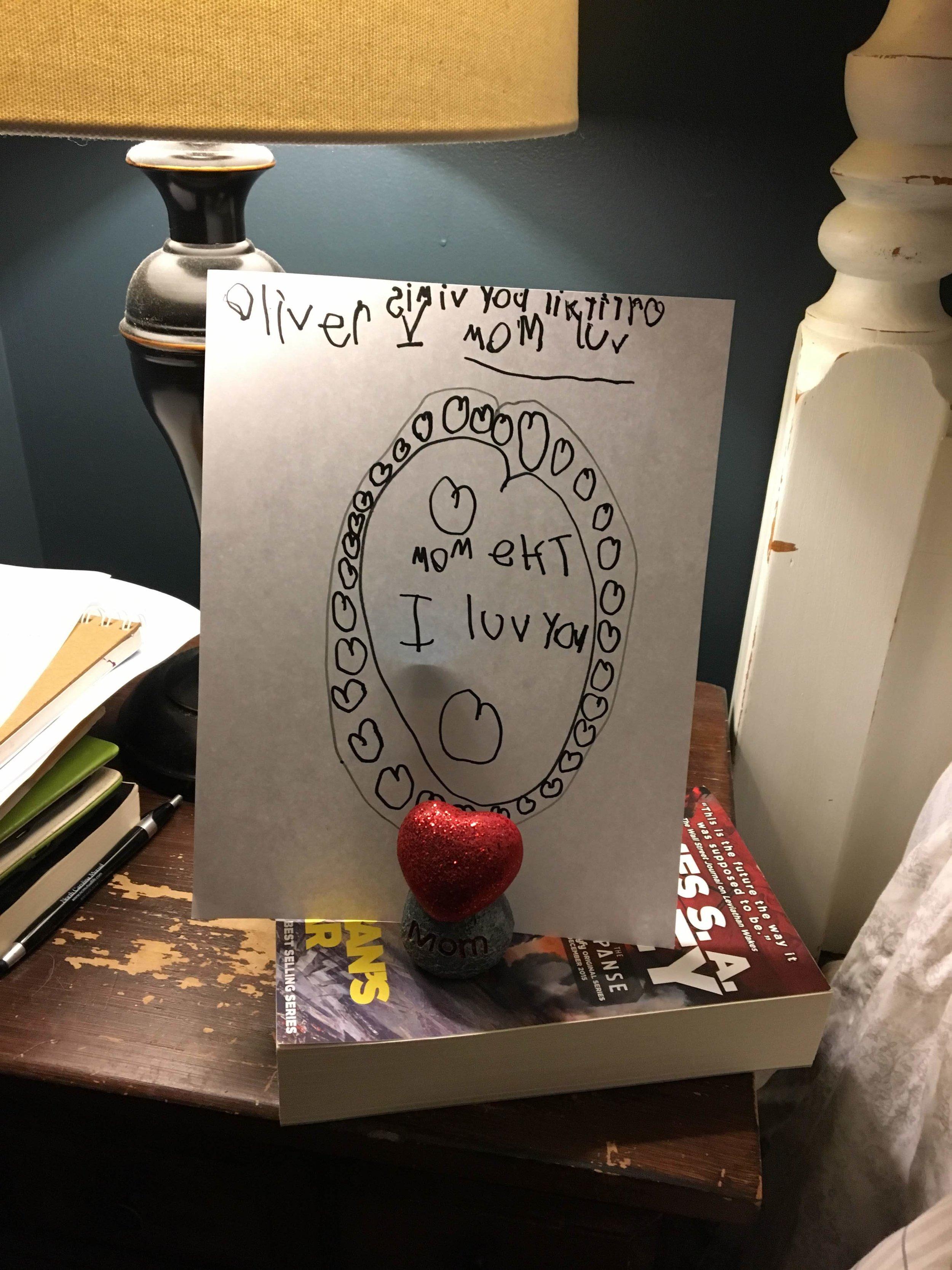 oliver writing