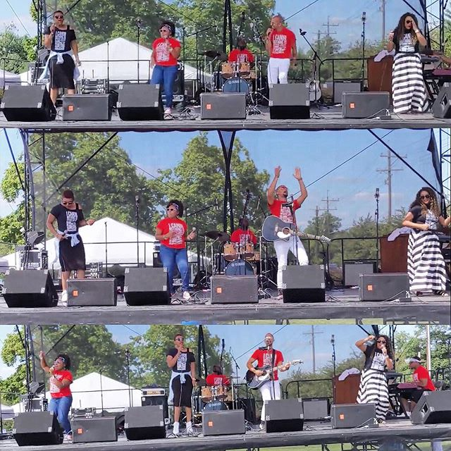 Had a blast yesterday! Special thanks to Dr. Elliott Cuff, Pastor David Minor, and LHMBC for having us again this year. It was a great day! And special thanks to all of our friends and supporters that came out and rocked with us. #goodtimes #iwillspeaklife